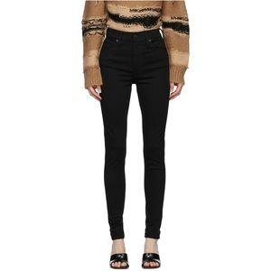 Levi's Mile High Super Skinny Pants Black